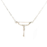 Ms. Cupid Silver Statement Necklace - Micha Store  - 1