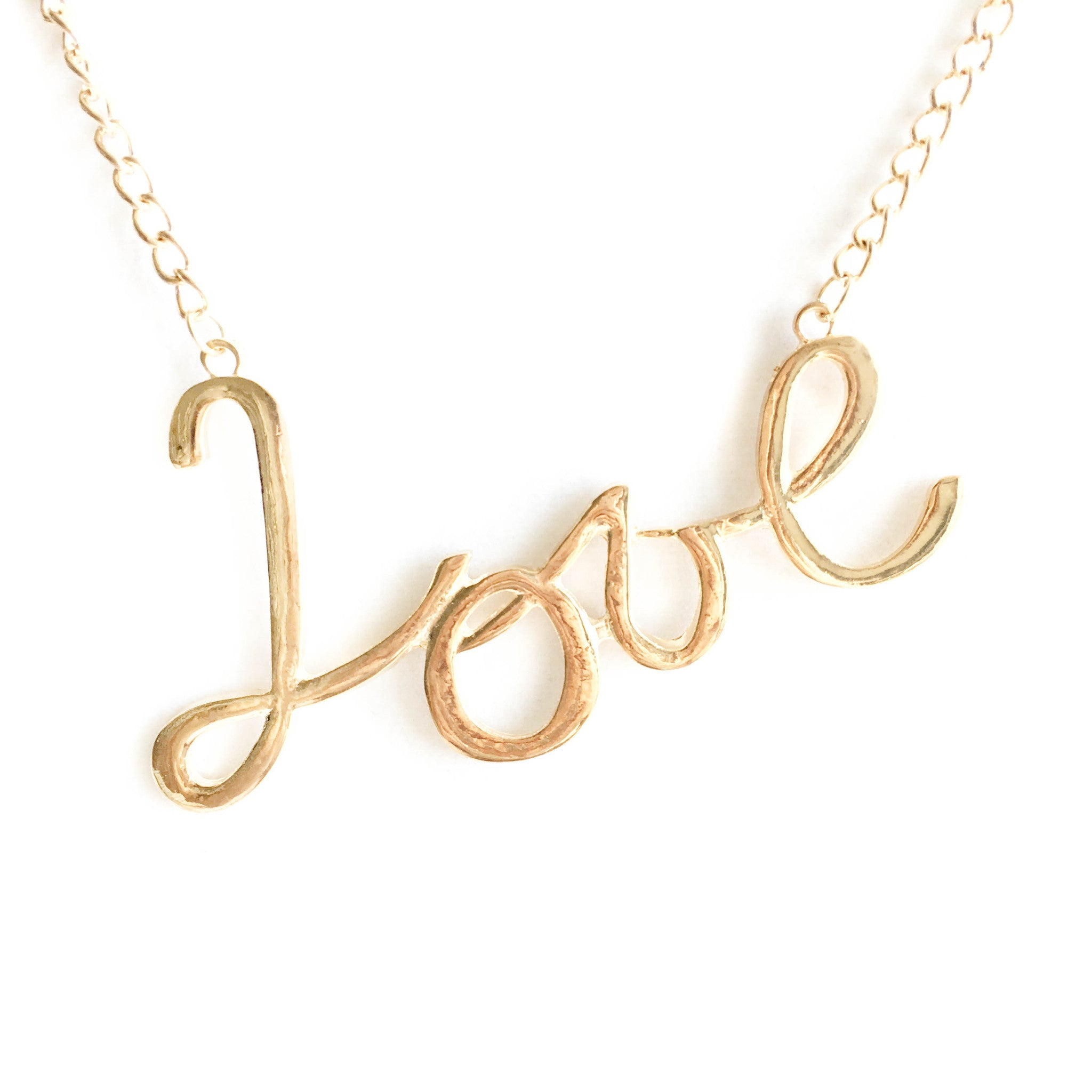 Say It Out Love Fashion Necklace - Micha Store  - 1