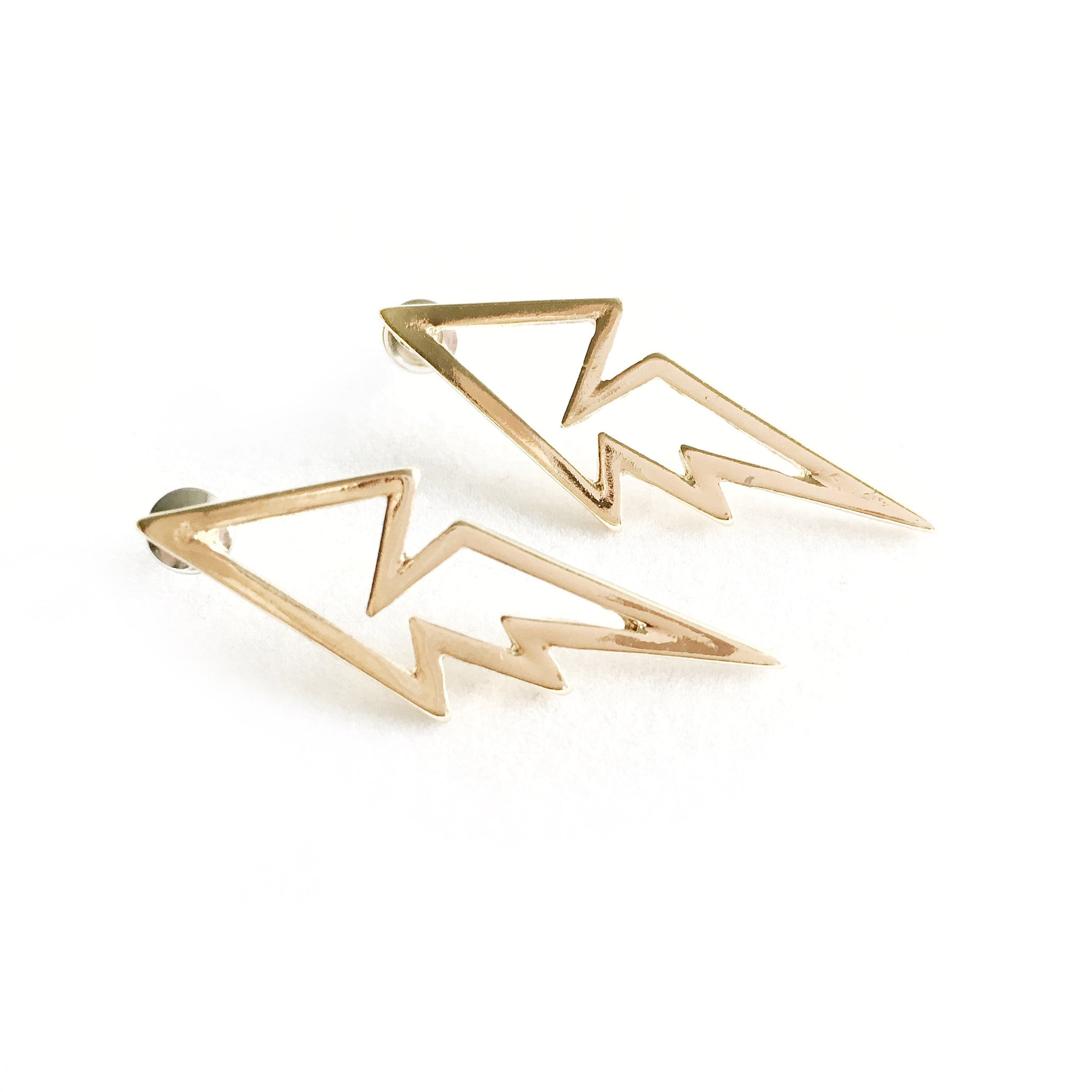 Sunny Flash Gold Earrings - Micha Store
