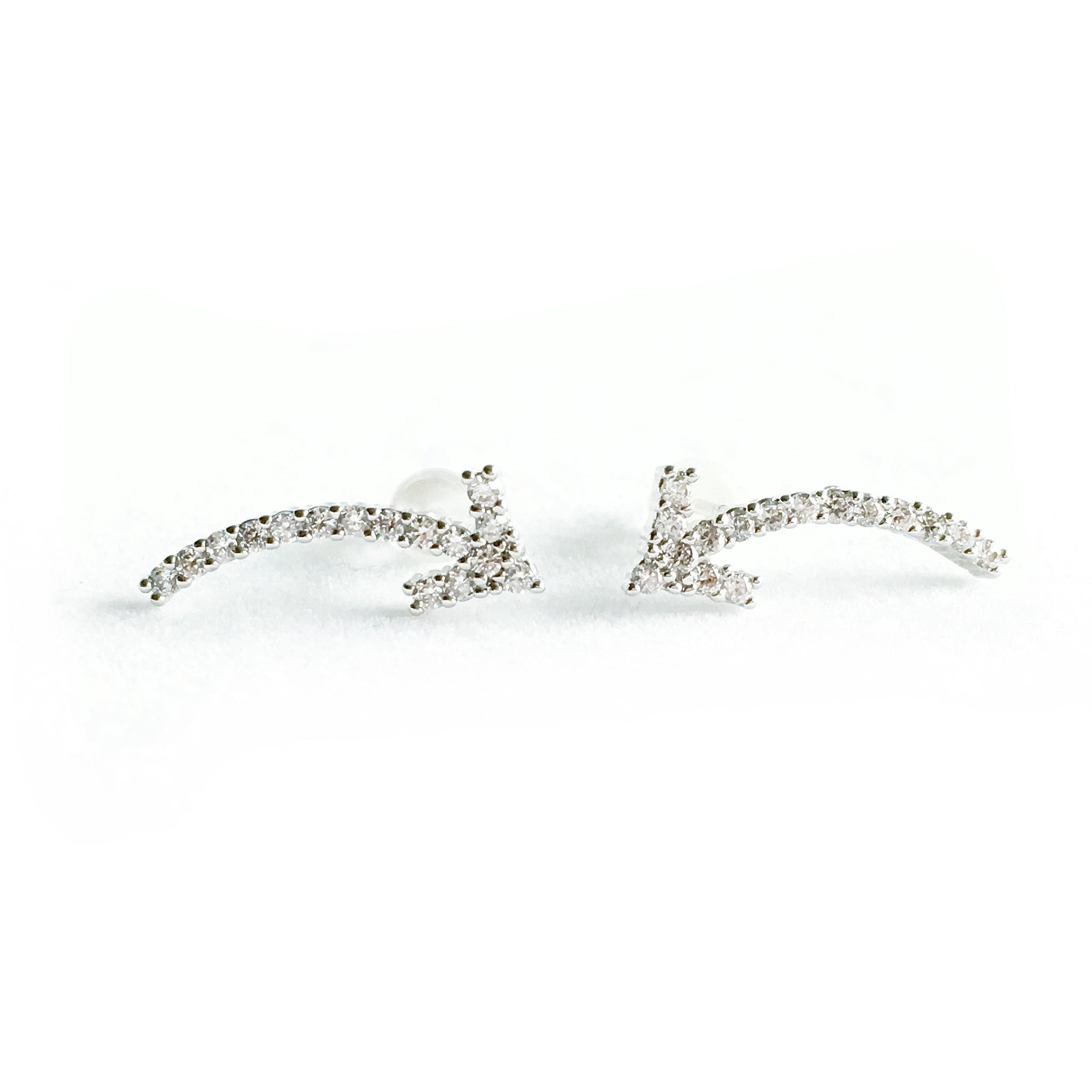 Willow Silver Earrings - Micha Store