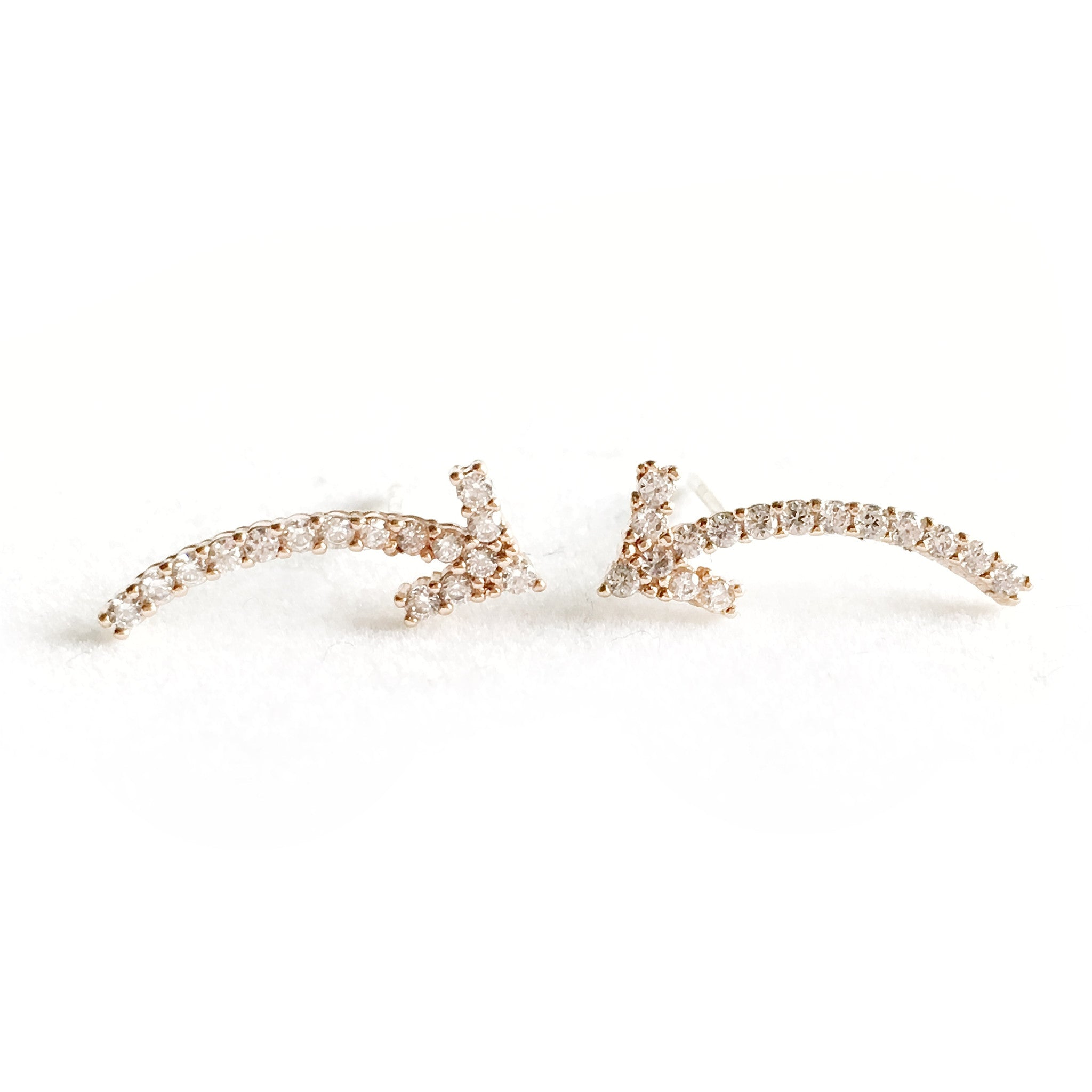 Willow Bronze Earrings - Micha Store