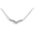 Bernice Angel Wings Silver Necklace