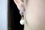 Cael Angel Wings Earrings - Micha Store  - 2