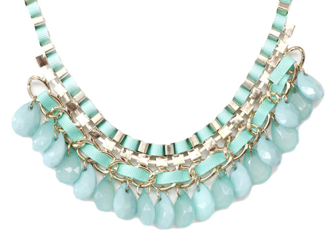 Chiquita Turquoise Statement Necklace