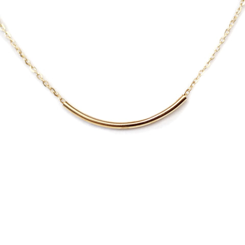 Rachel Minimalist Gold Necklace
