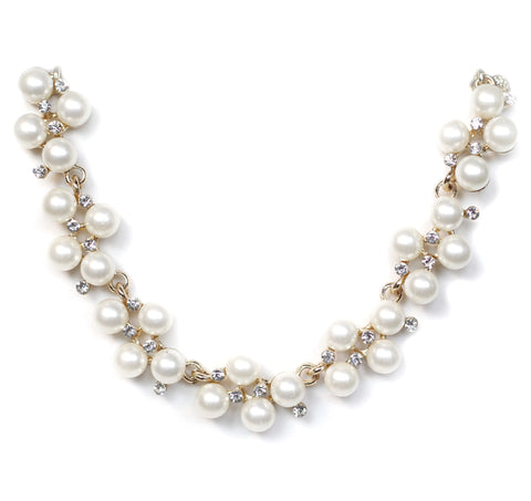 Daphne Pearl Collar Necklace