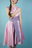 Ellora Pink and Purple Vintage Dress