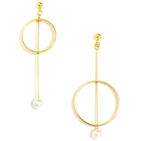 Gaia Gold Earrings