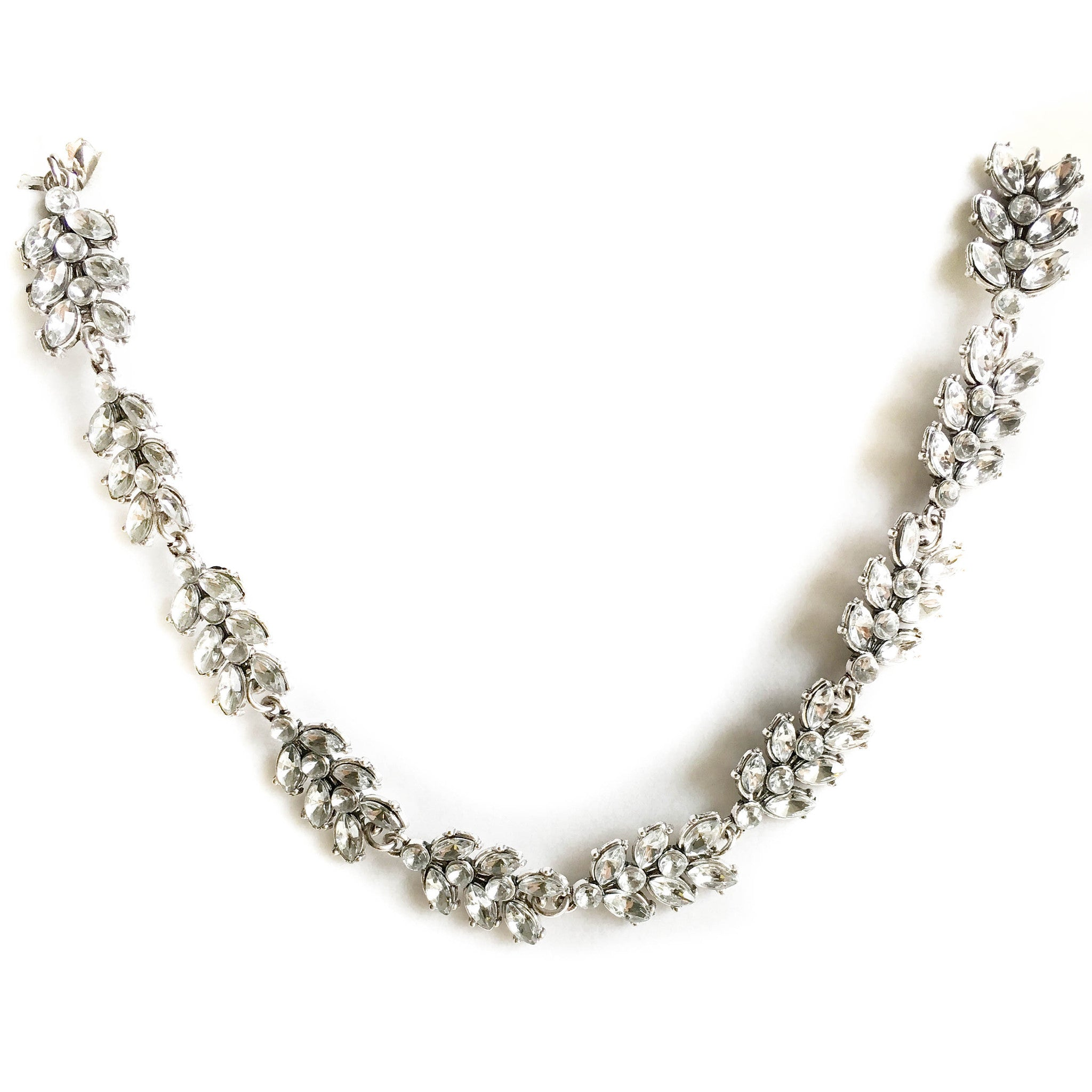 Aurore Crystal Collar Necklace - Micha Store