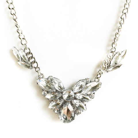 Chervil Crystal Statement Necklace - Micha Store  - 1