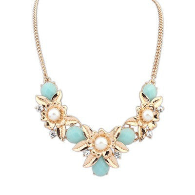 Caitlyn Flower Fashion Necklace - Micha Store  - 1