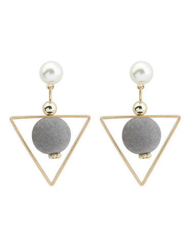 Caden Triangle Earring