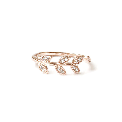 Bianca Rose Gold Ring