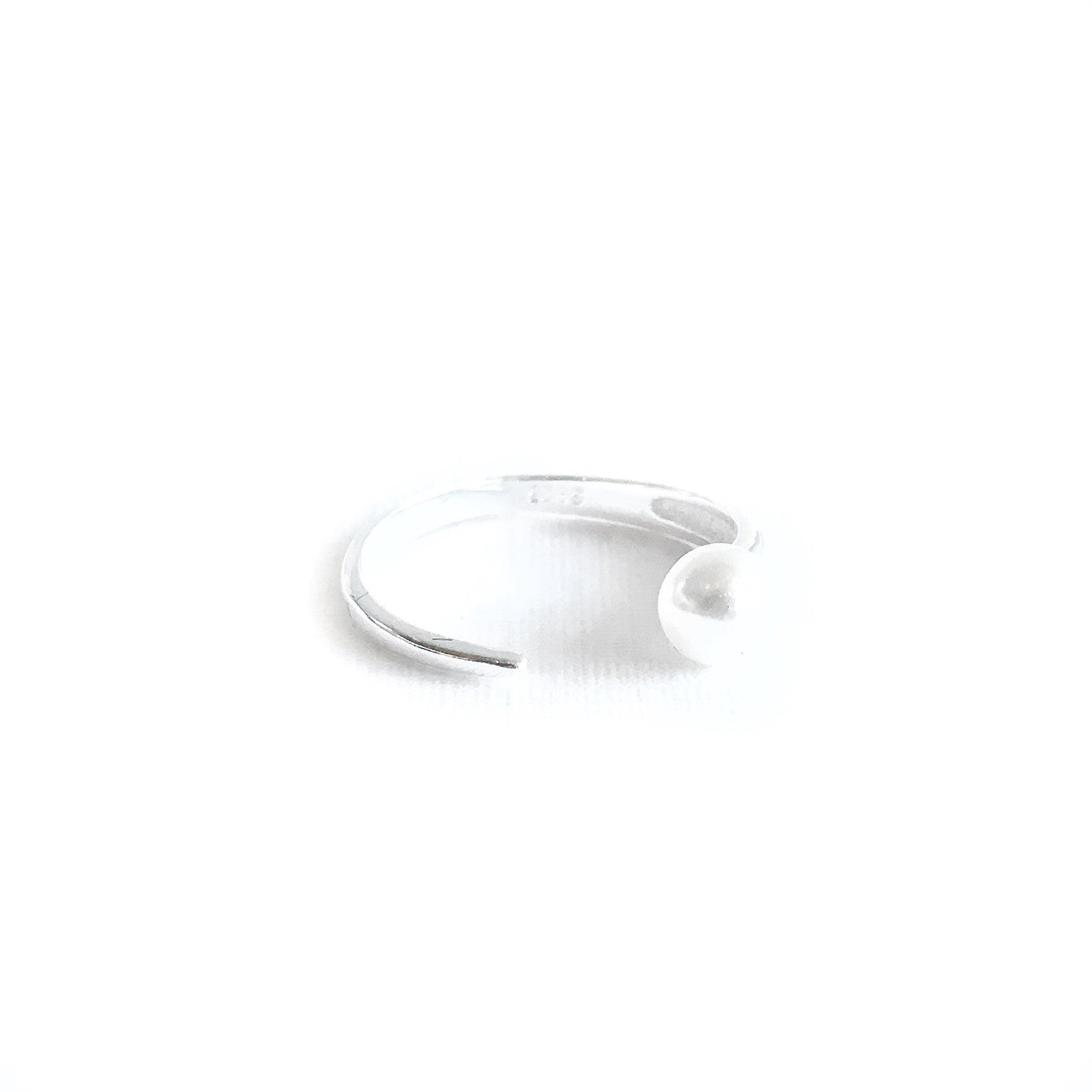 Belle Pearl Silver Ring