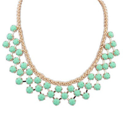 Noline Green Necklace