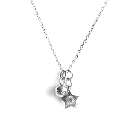 Starla Silver Necklace