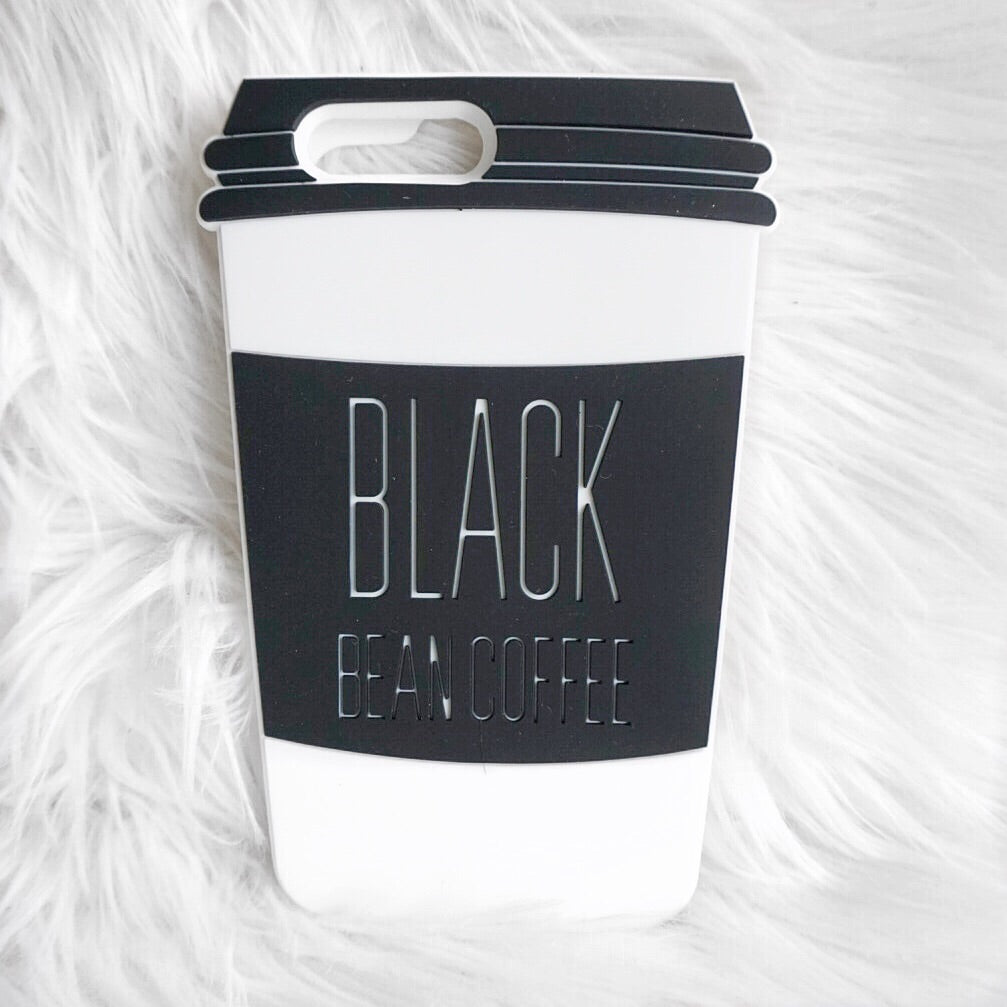 Black Coffee - White iPhone 6 Case