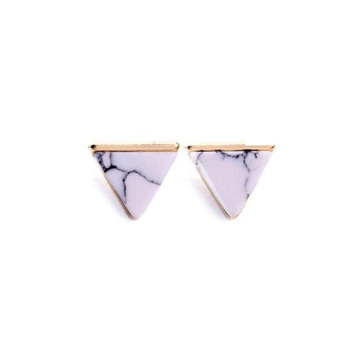 Vita Marble Earrings