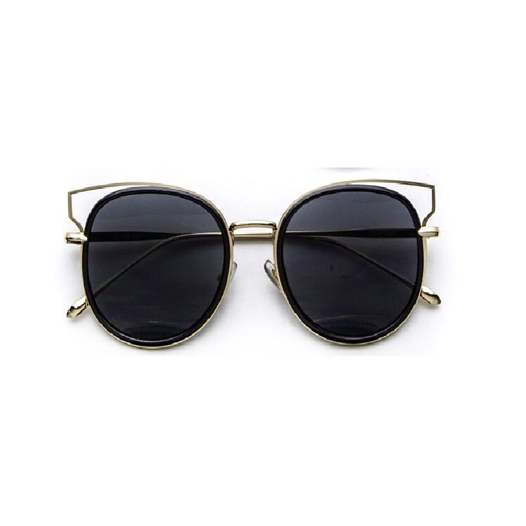 Orion Black and Gold Sunglasses