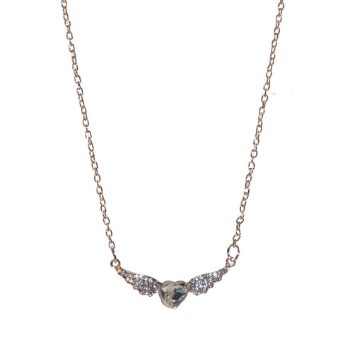 Angel Heart Bronze Necklace
