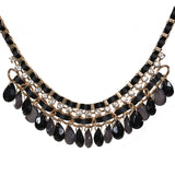 Chiquita Black Statement Necklace