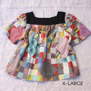 Square Neck Shirt - all sizes