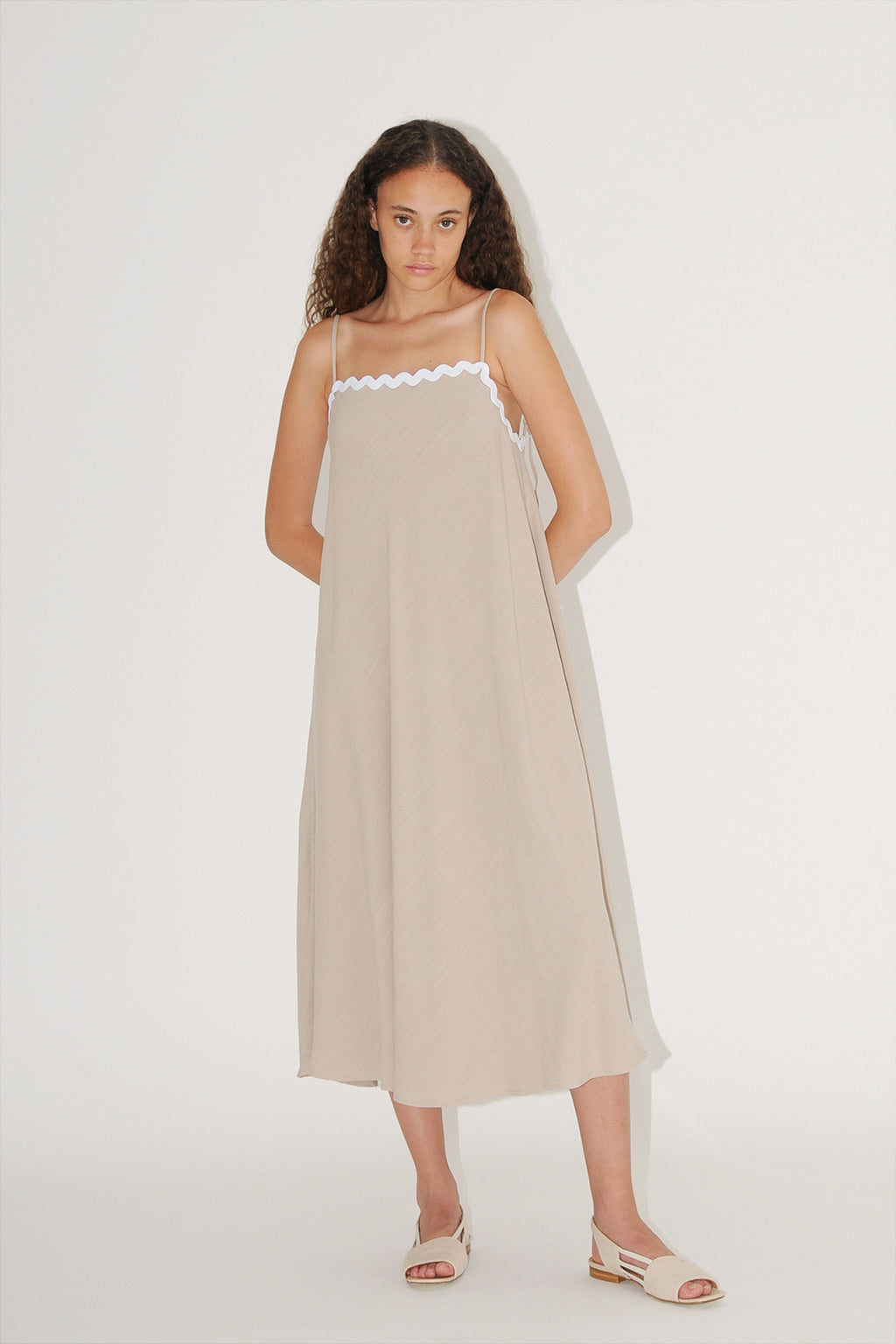 Altea Dress - Stone