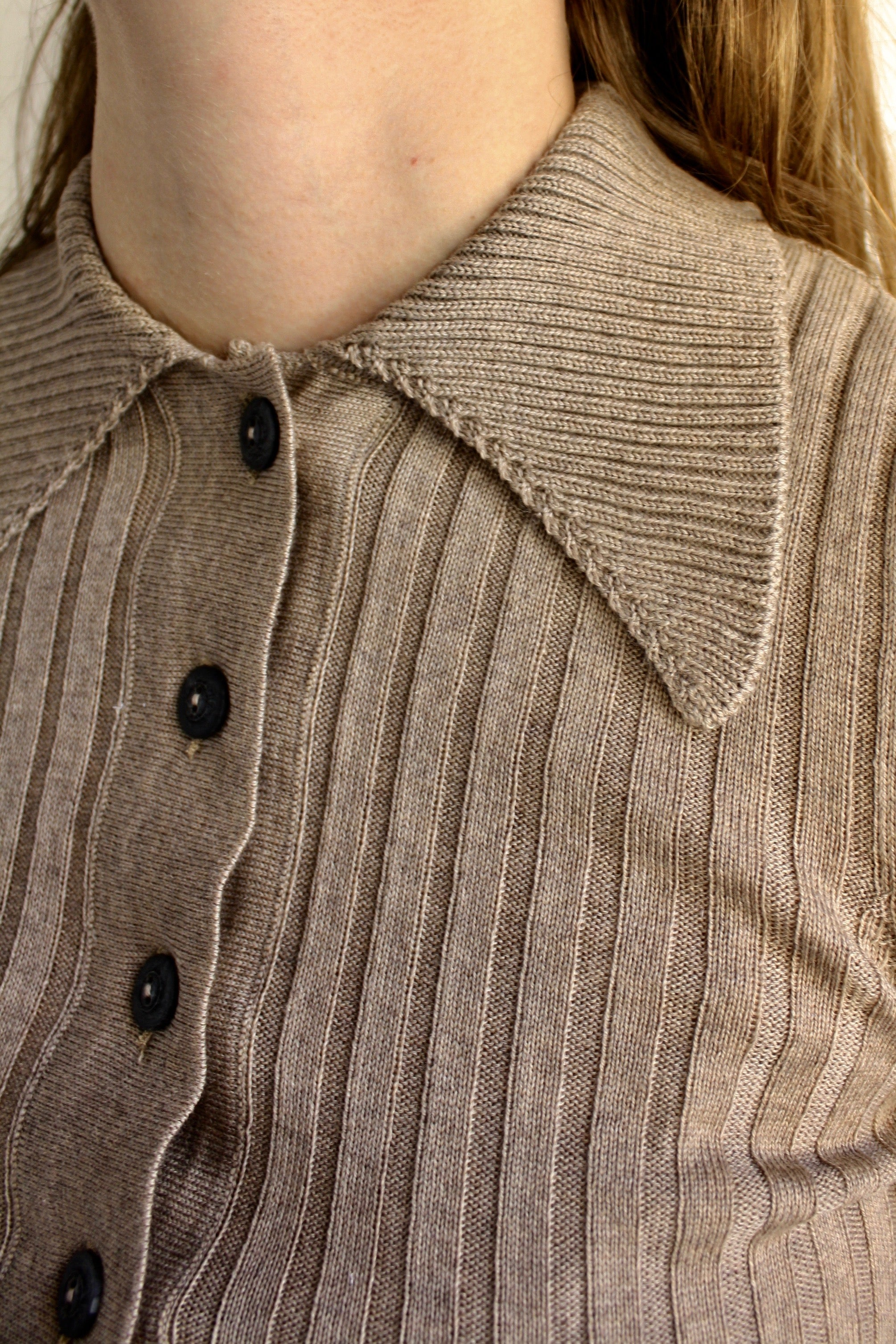 Dome Sweater - Taupe
