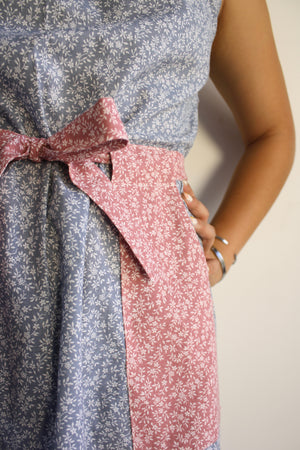 Alva Dress - Two Tone Floral