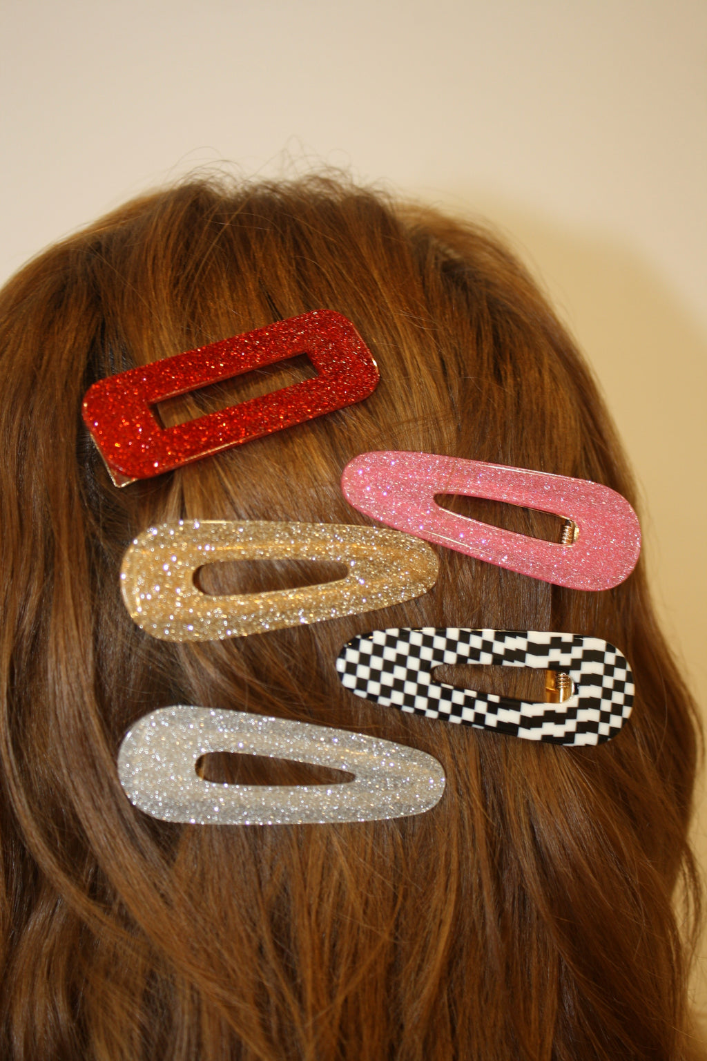 Acetate Hair Clips