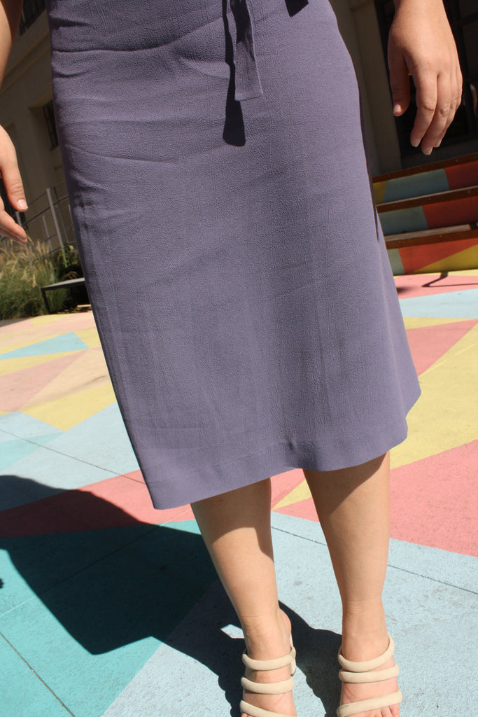 Dodge dress - Periwinkle