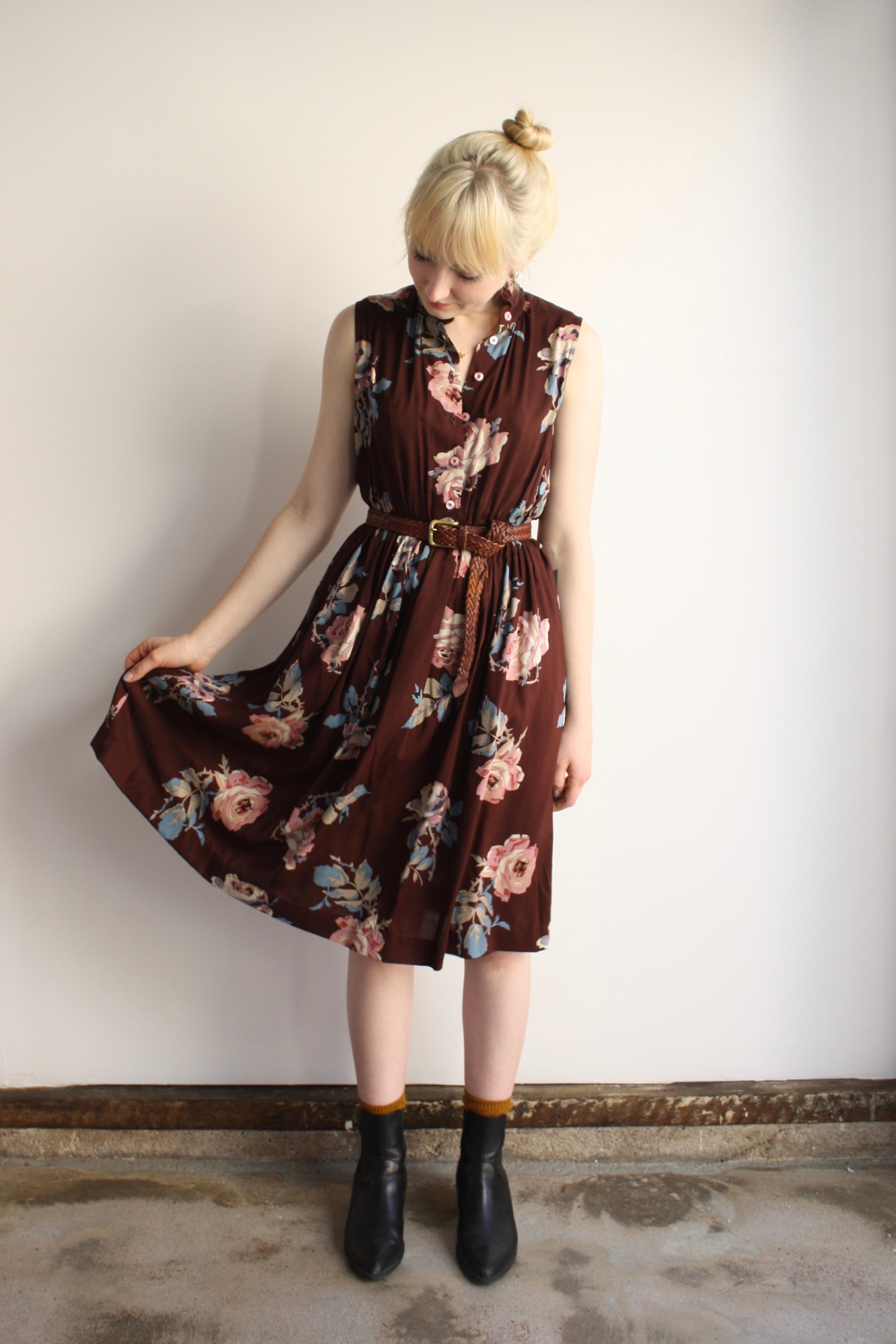 Julie Dress - Tea Rose