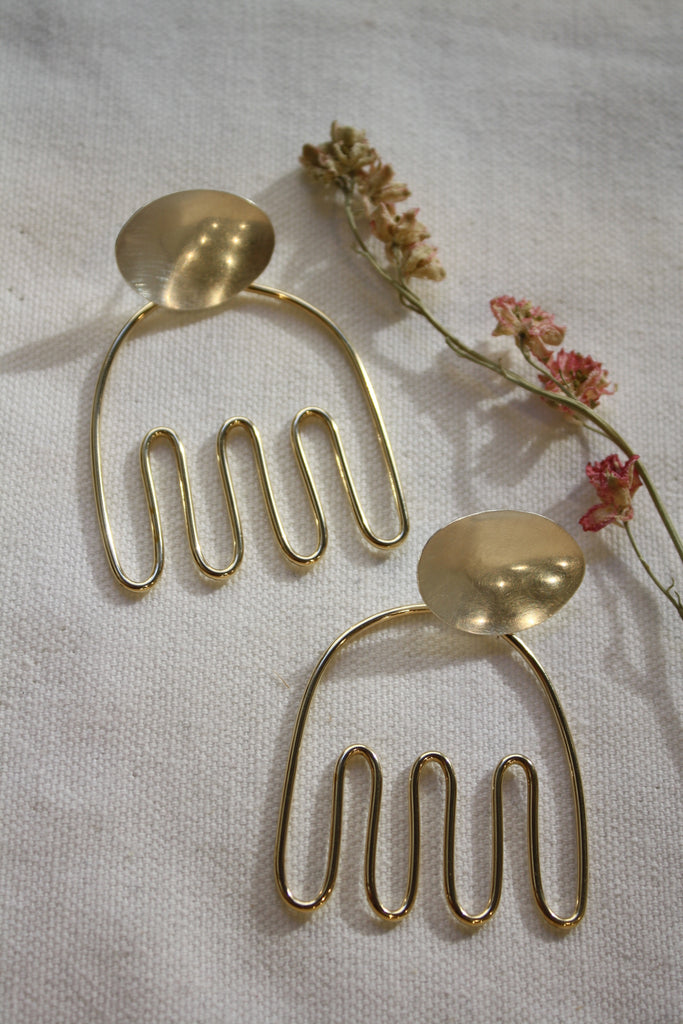 anemone earrings - petite