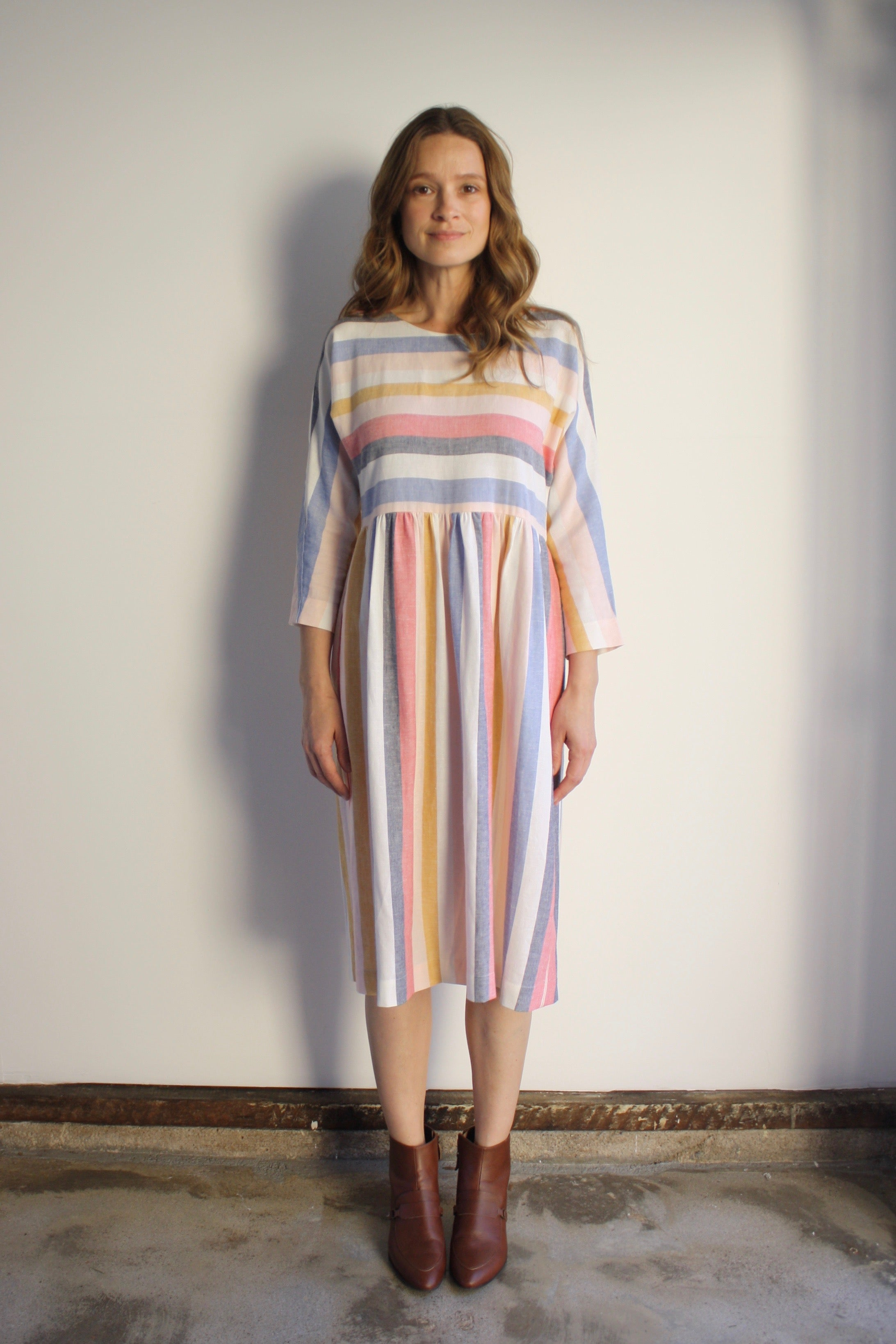 Rae Dress - Summer Stripe
