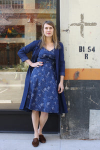 Vaughn Dress - indigo
