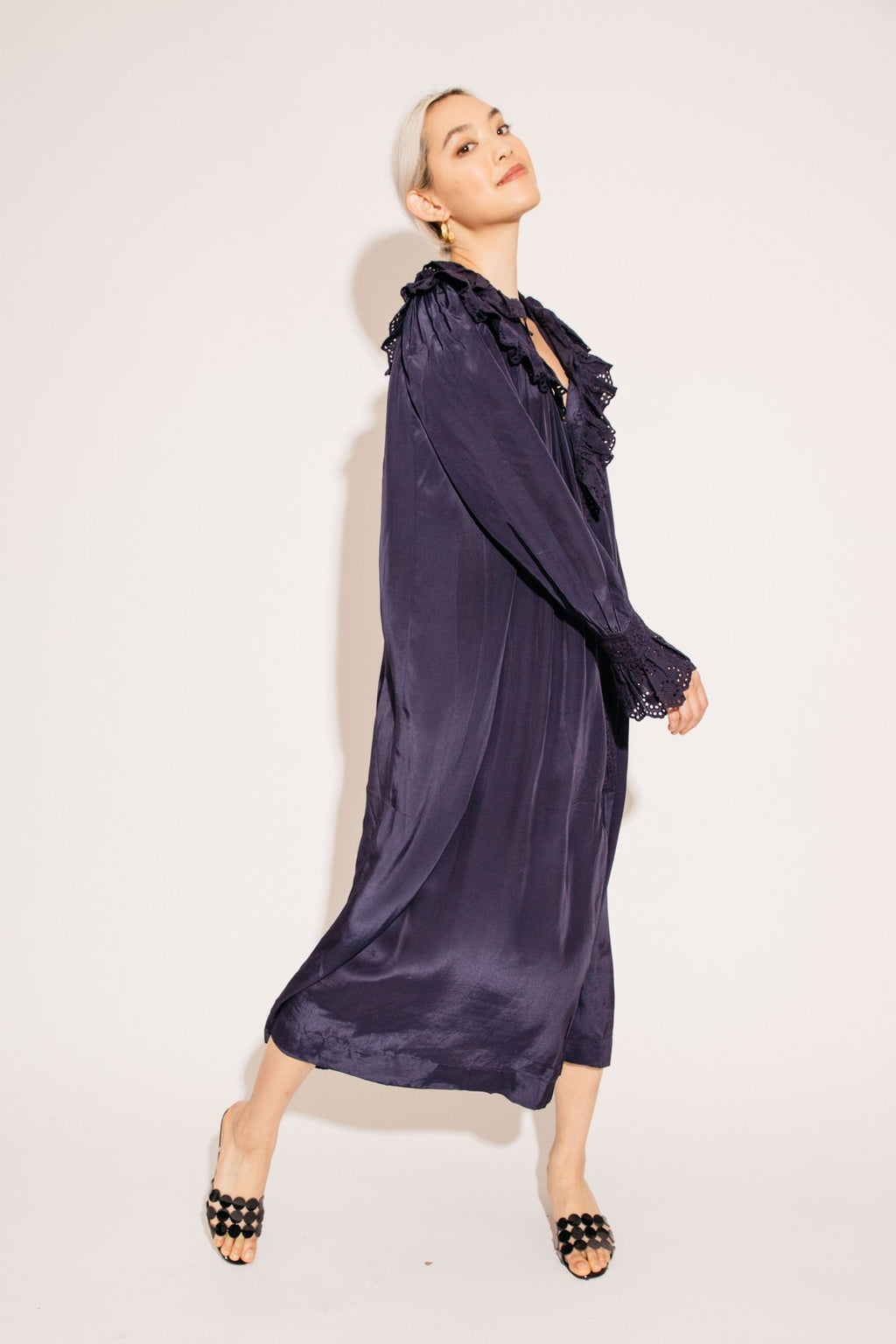 Sonnet Dress - Navy