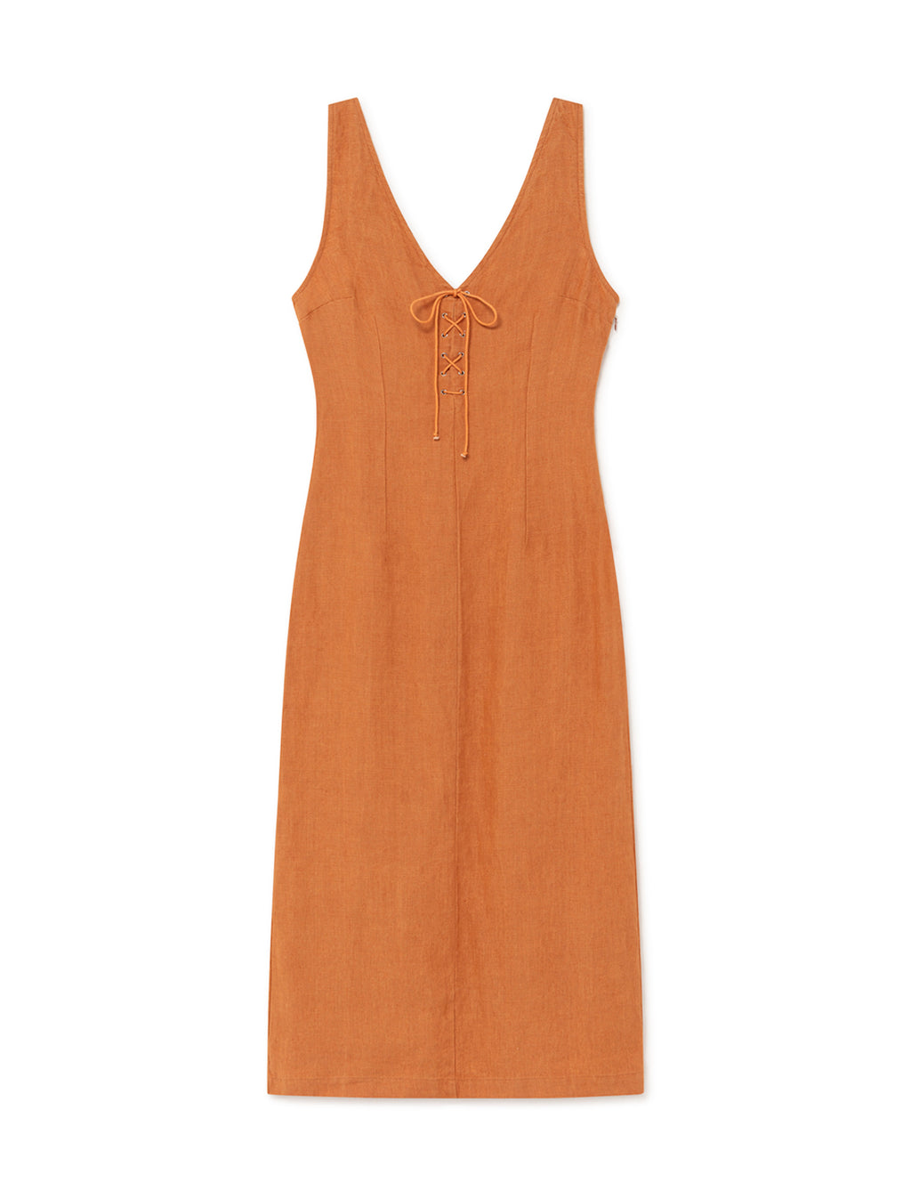 Emma Dress - Light Caoba