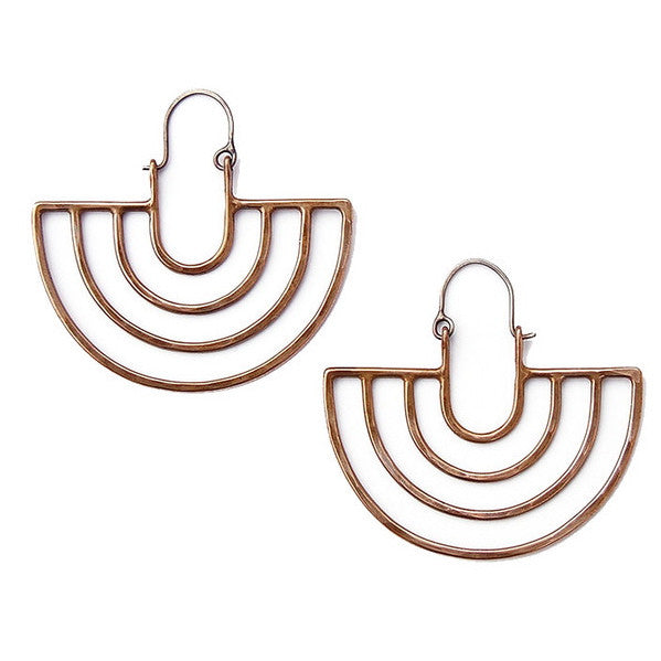 Porta earrings