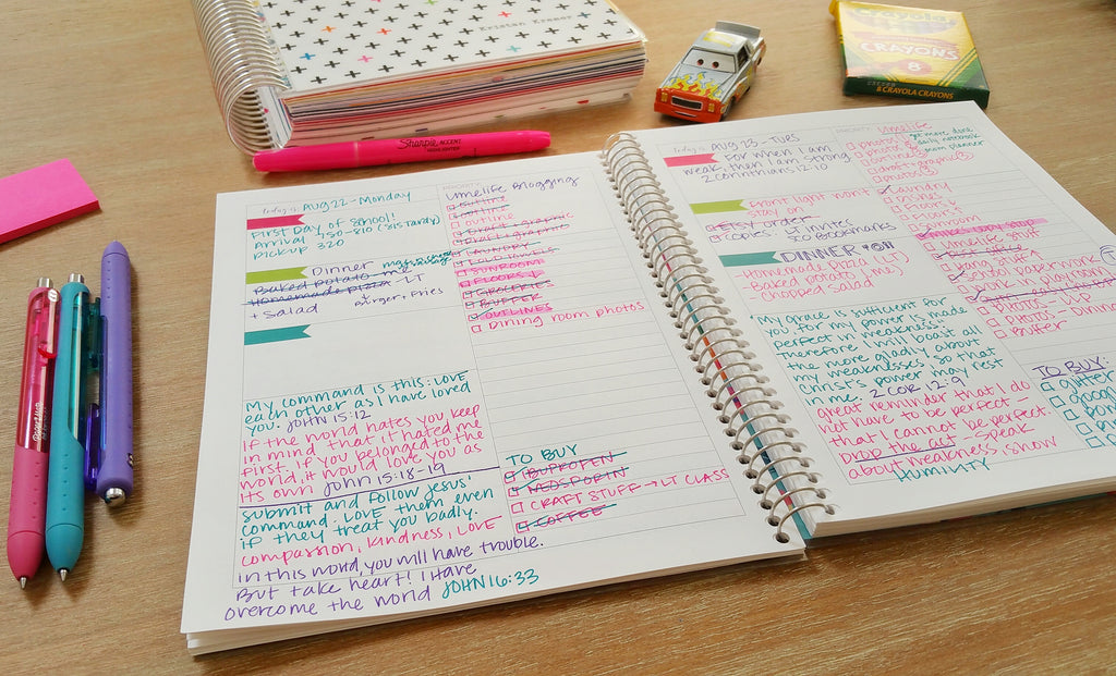 Limelife Planner Daily Notebooks are a great way to organize your daily routine.