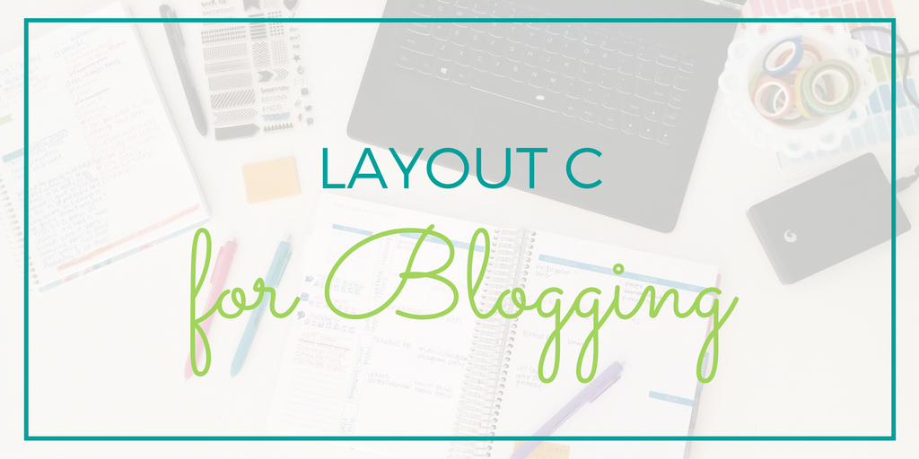 How to use a planner for blogging