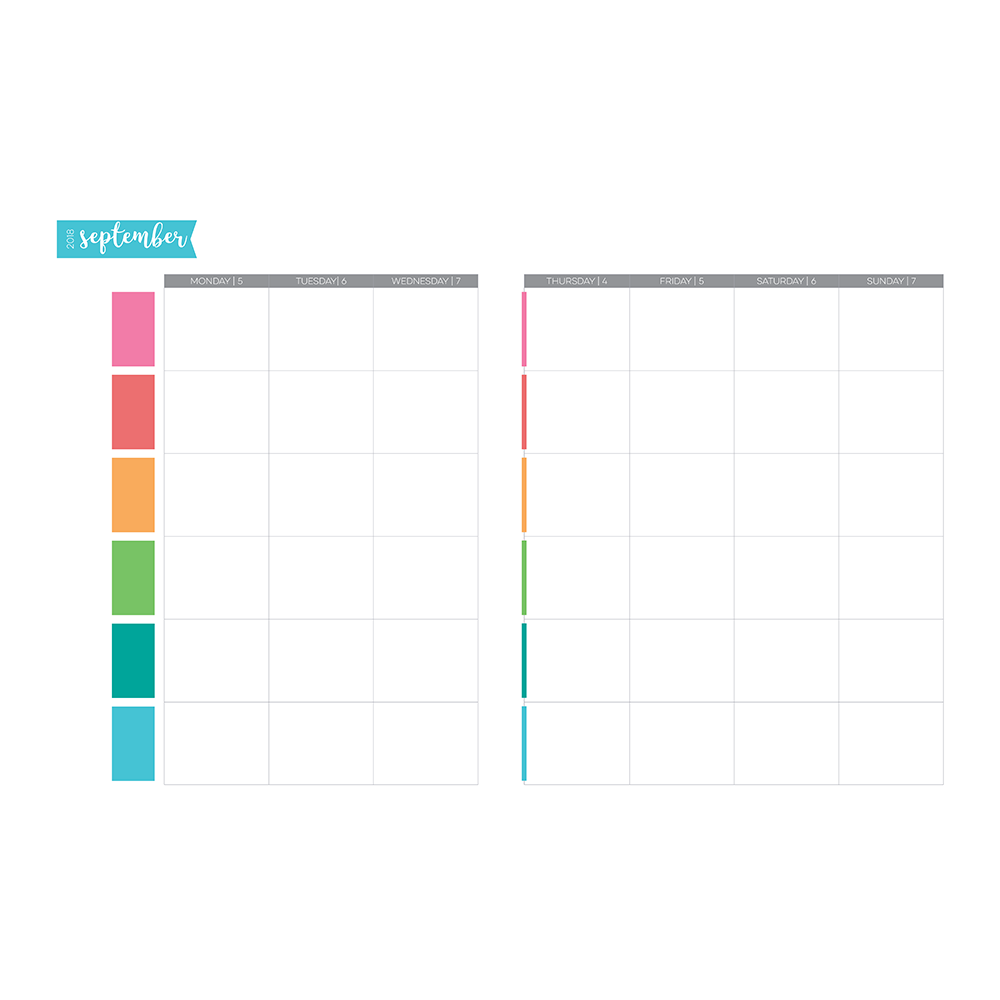 weekly layout samples limelife planners
