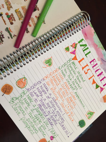 20 Things to do this Fall. Writing these in my planner now!