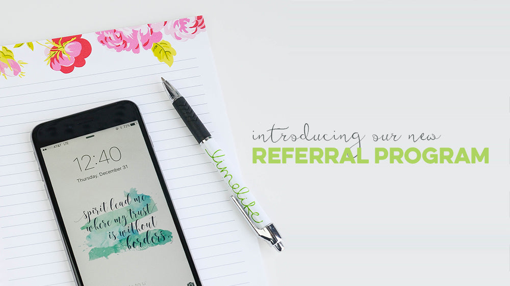 Introducing the Limelife Planner Referral Program