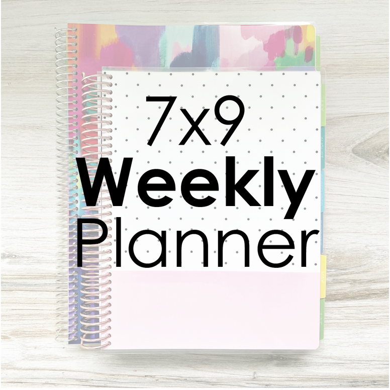 7x9 Weekly Planner