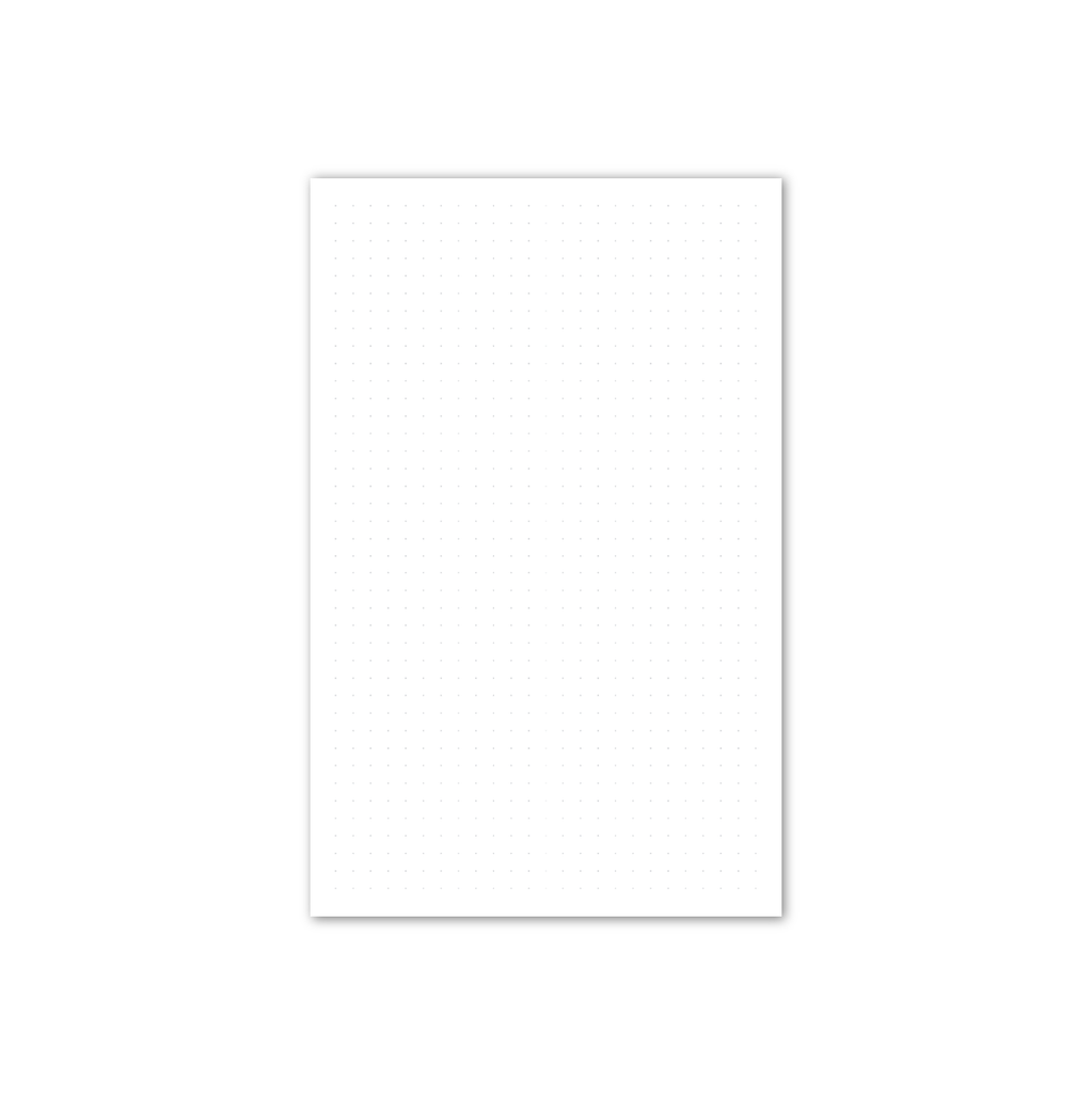 picture about Dot Grid Printable named B6 Every day Dot Grid Printable