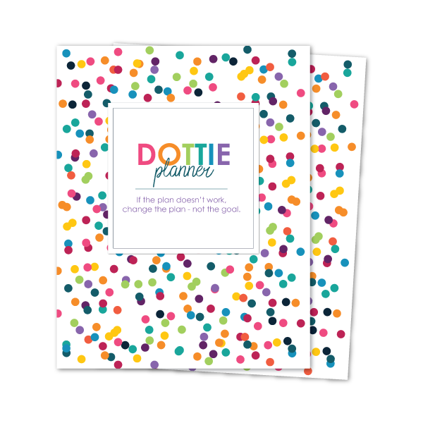 A5 DOTTIE WEEKLY PLANNER INSERTS