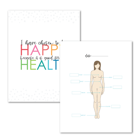 Health and Fitness Planner Add-On