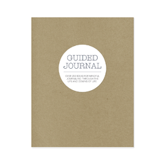 Blank Slate Guided Journal