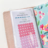 Traveler's Notebook Double-Sided Vinyl Pocket