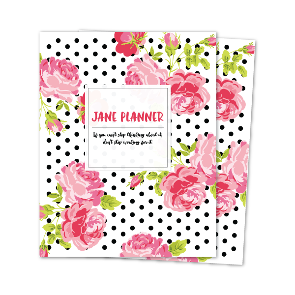 A5 JANE WEEKLY PLANNER INSERTS
